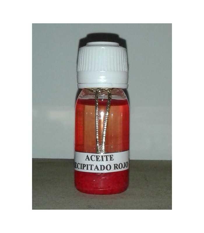 Aceite precipitado rojo