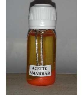 Aceite amarrar