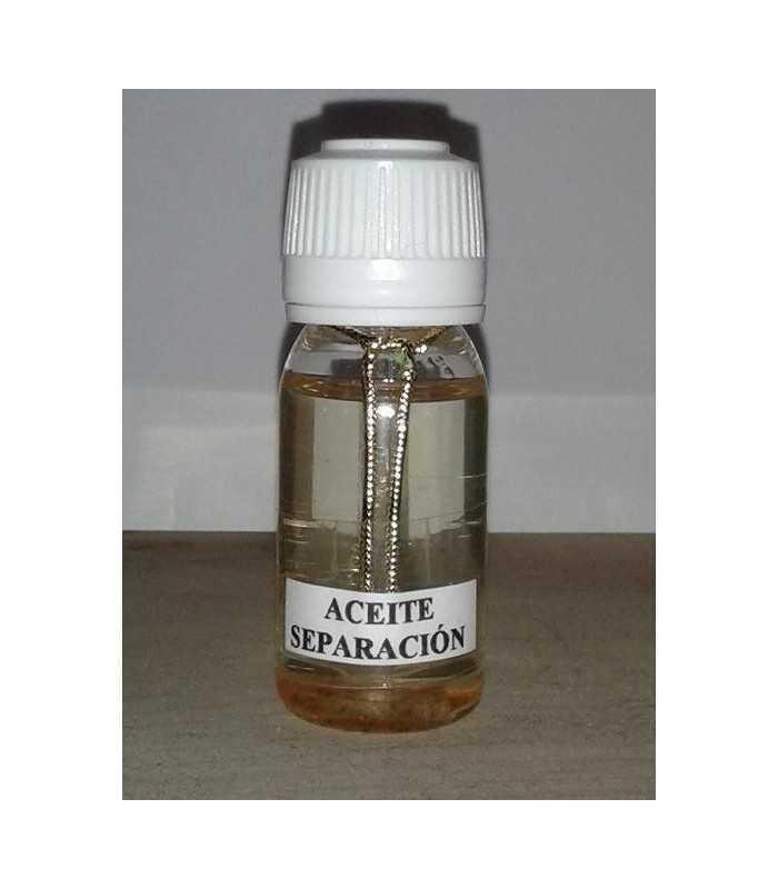 Aceite separación