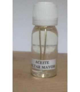 Aceite altar mayor